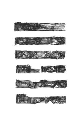 Mirtha Dermisache : Fragmento de historia, 1974 - Florent Fajole éditeur - 4