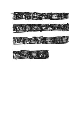 Mirtha Dermisache : Fragmento de historia, 1974 - Florent Fajole éditeur - 6